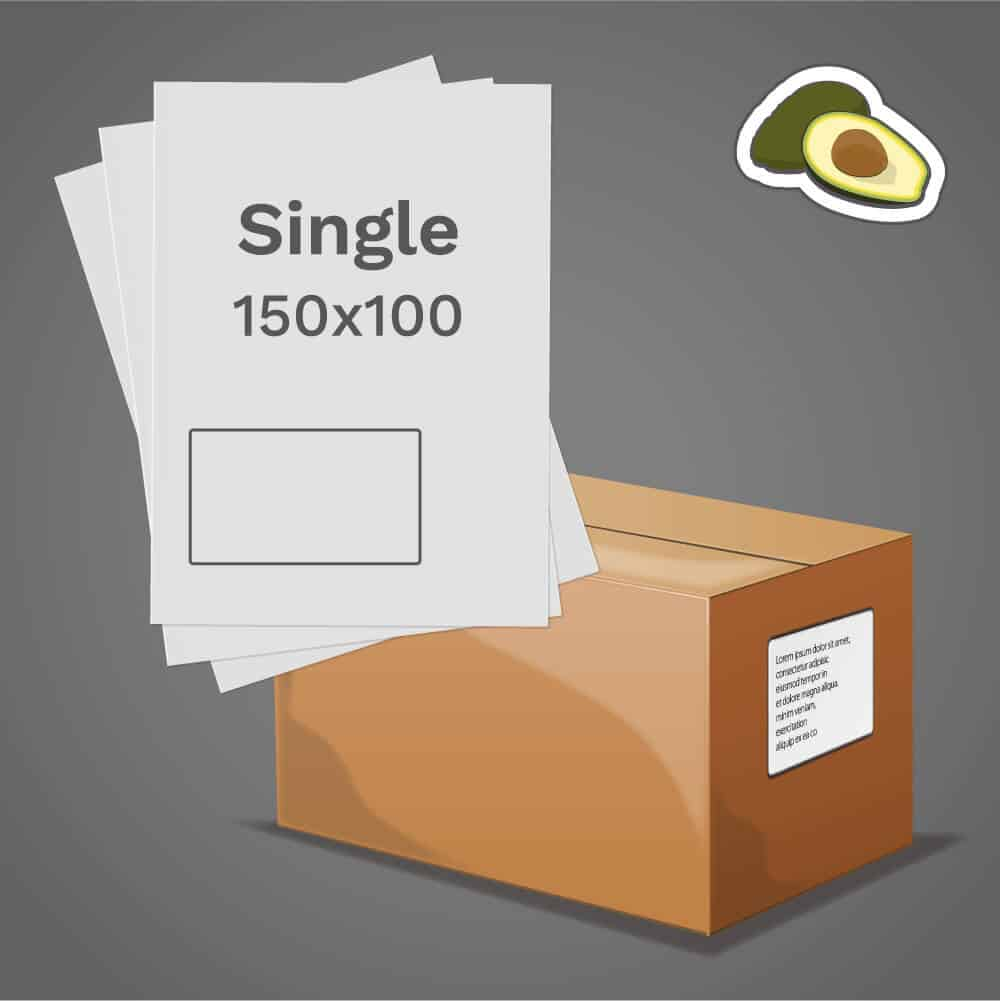 Avocado Single Label
