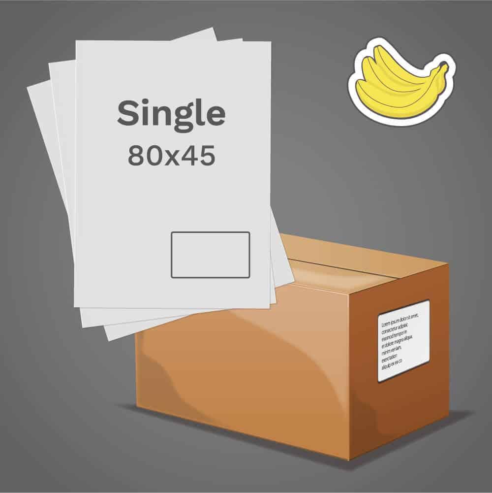Banana Single Label